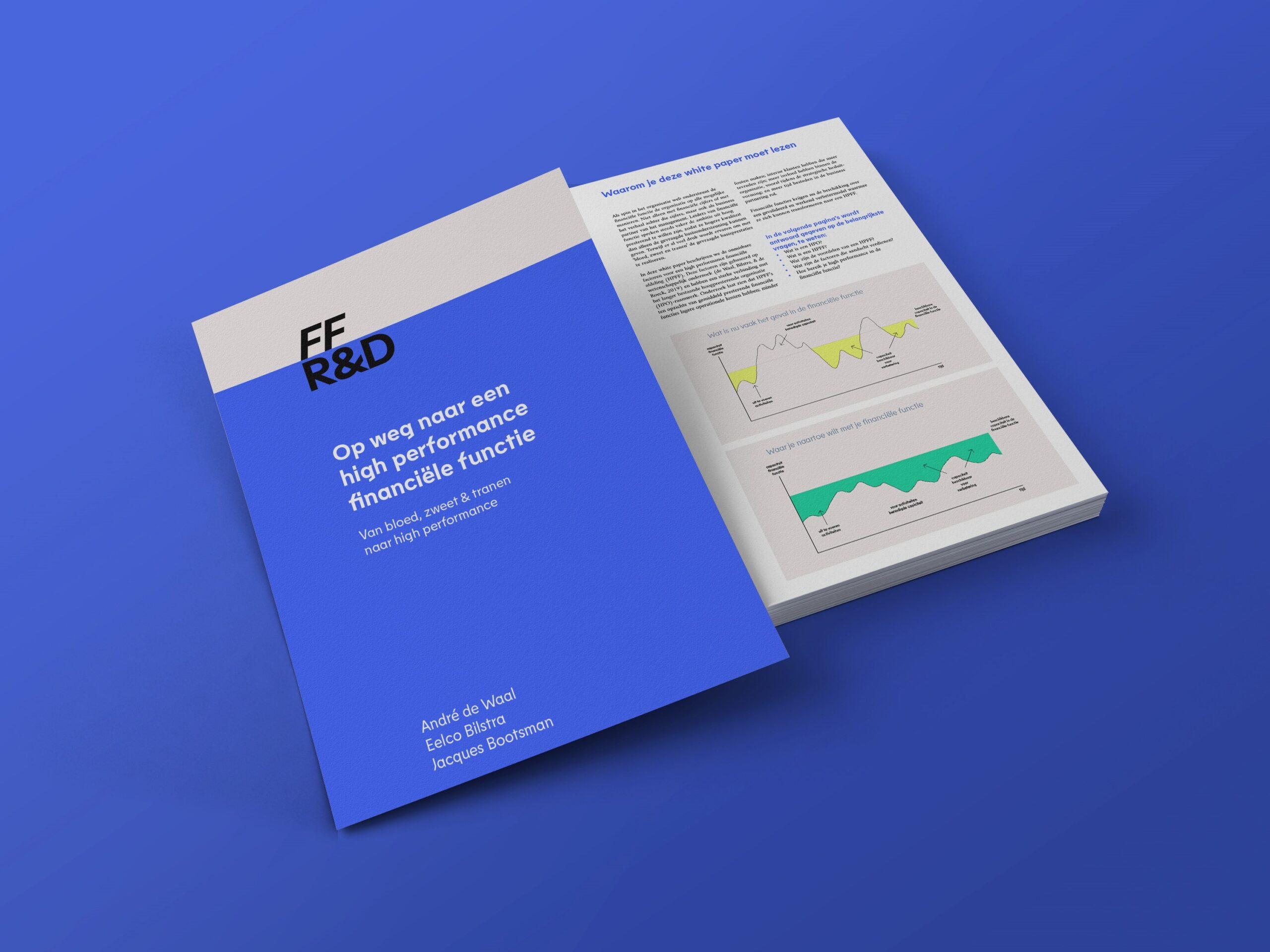 """Onze whitepaper: """"Op weg naar een high performance financiële functie"""""""